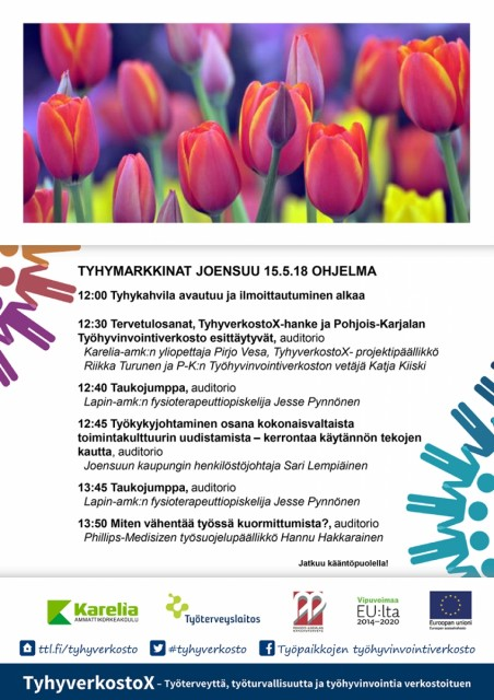 Tyhymarkkinat OHJELMA 15.5.18 Jns 01-01