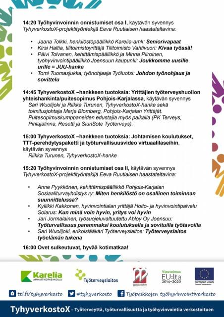 Tyhymarkkinat OHJELMA 15.5.18 Jns 02-01